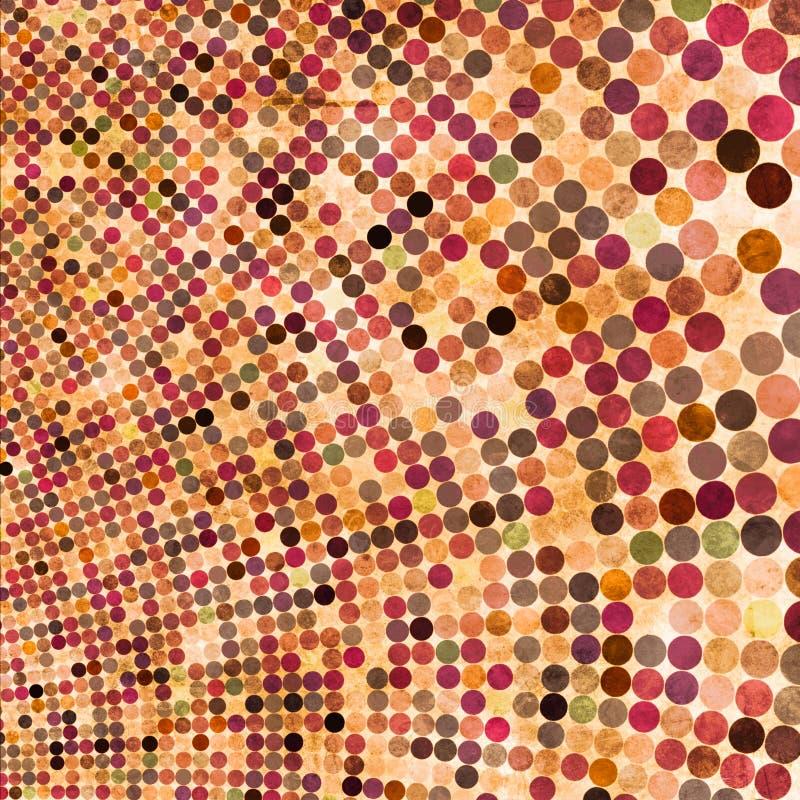 abstrakt bakgrundscirkel vektor illustrationer