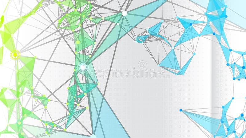 abstrakt bakgrundsdiagram vektor illustrationer