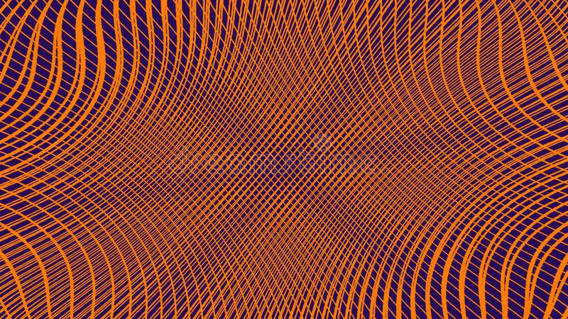 abstrakt bakgrundsduotone Rastrerad textur Moderiktig synthwavecyberpunklutning vektor illustrationer