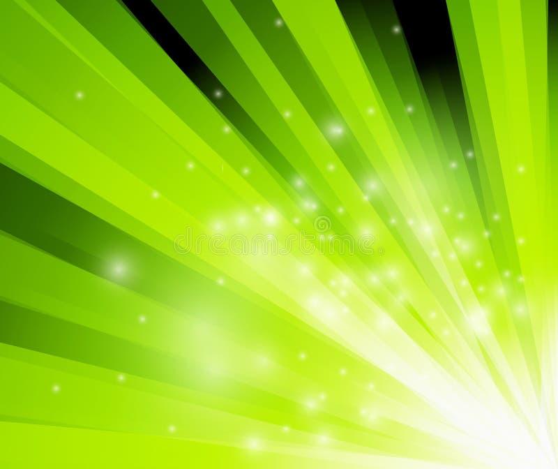 abstrakt bakgrundsexponeringsgreen stock illustrationer