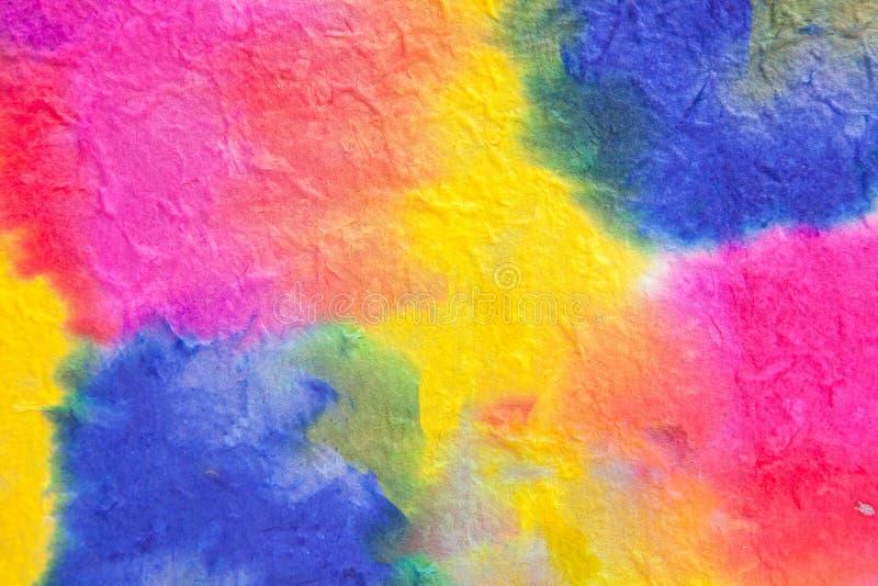 abstrakt bakgrundsfärgvatten stock illustrationer