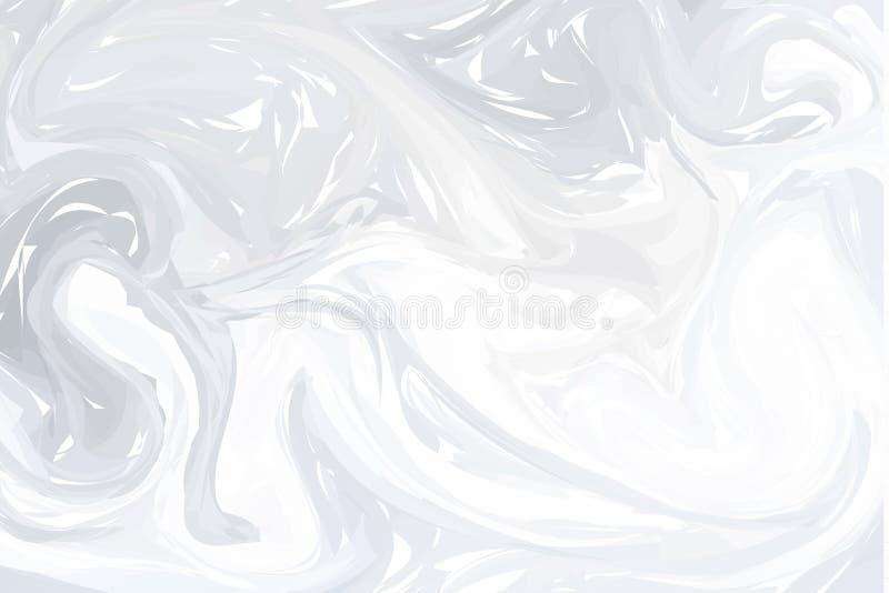 abstrakt bakgrundsgray Färgpulver som marmorerar texturer Hand drog marmorillustrationer, ebruaquapapper och silketryck tradition stock illustrationer
