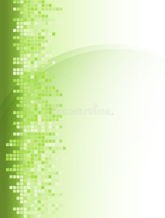 abstrakt bakgrundsgreenfyrkant vektor illustrationer