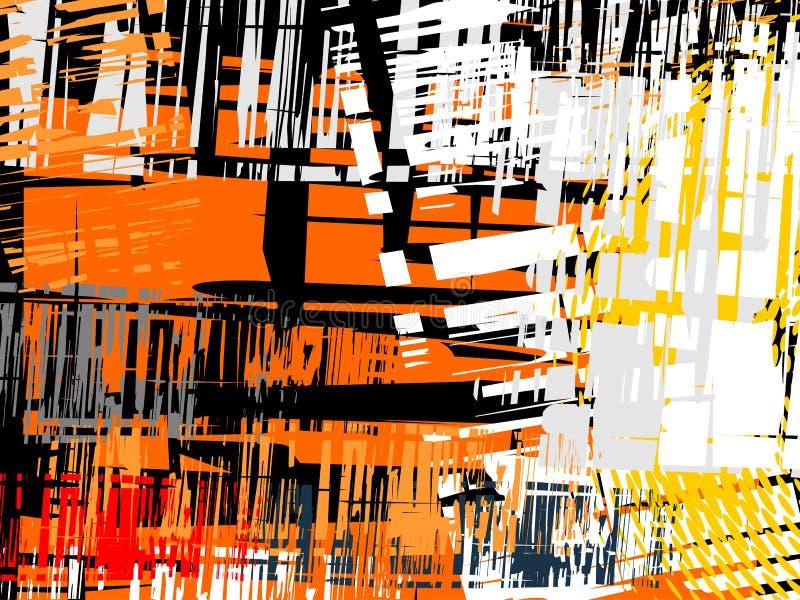 abstrakt bakgrundsgrungevektor stock illustrationer