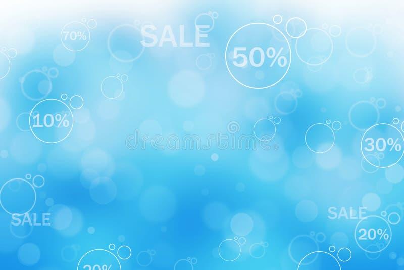 Abstrakt bakgrundsillustration av försäljningen vektor illustrationer