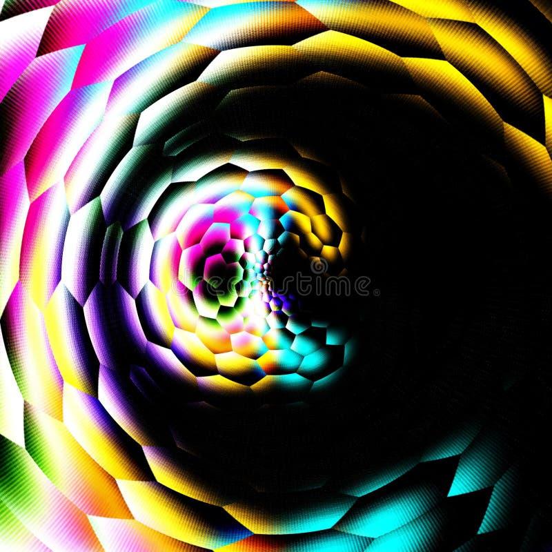 abstrakt bakgrundskaleidoscope royaltyfri illustrationer