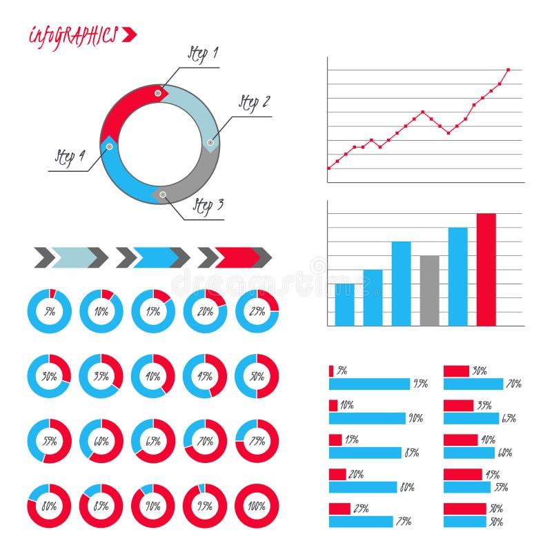 Download Abstrakt Bakgrundskort Och Linjer Paj Graf, Linje Diagram, Pilar, Moment Vektor Illustrationer - Illustration av vektor, data: 78731405