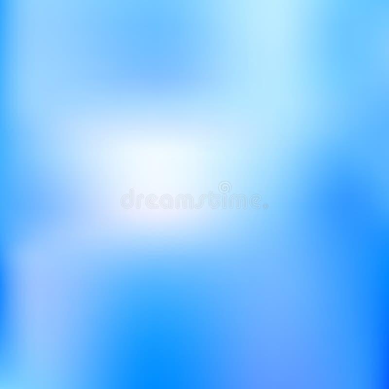 abstrakt bakgrundskricka Suddig turkosvattenbakgrund Vektorillustration för din grafiska design vektor illustrationer
