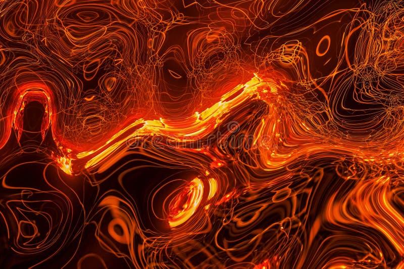 abstrakt bakgrundskurvor vektor illustrationer