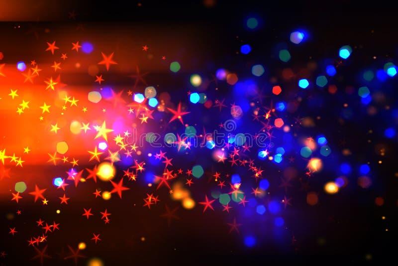abstrakt bakgrundslampamagi arkivbilder
