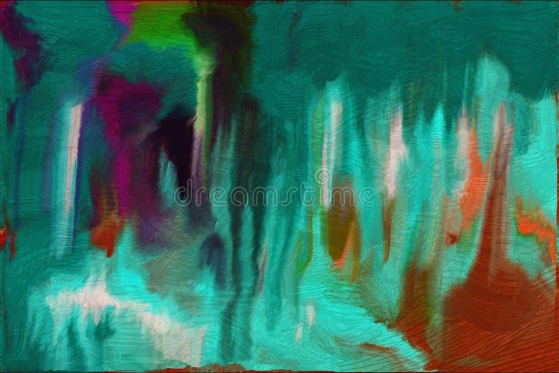 abstrakt bakgrundsmålning stock illustrationer