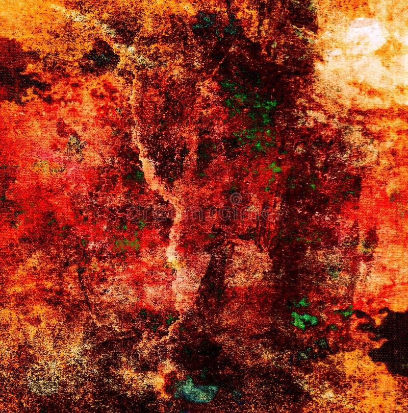 abstrakt bakgrundsmålning vektor illustrationer