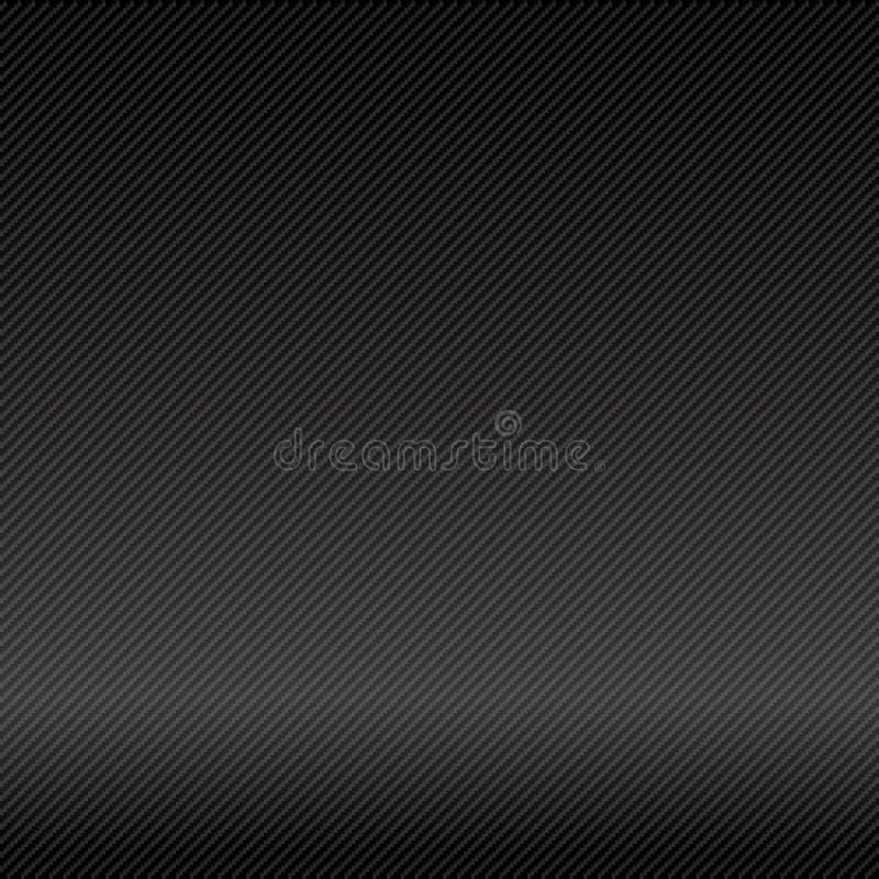 Abstrakt bakgrundsmörker och illustrat för vektor för svartkolfiber royaltyfri illustrationer
