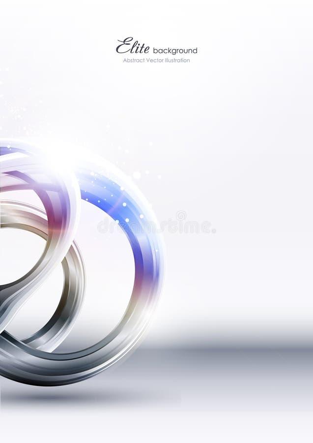 abstrakt bakgrundsmetallteknologi stock illustrationer