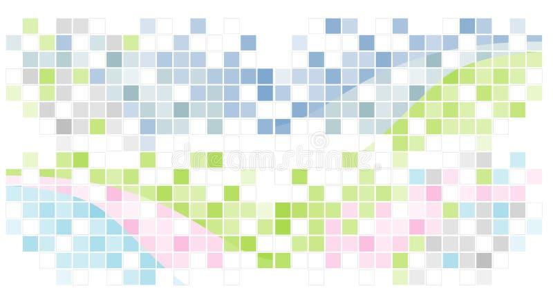 abstrakt bakgrundsmosaik vektor illustrationer