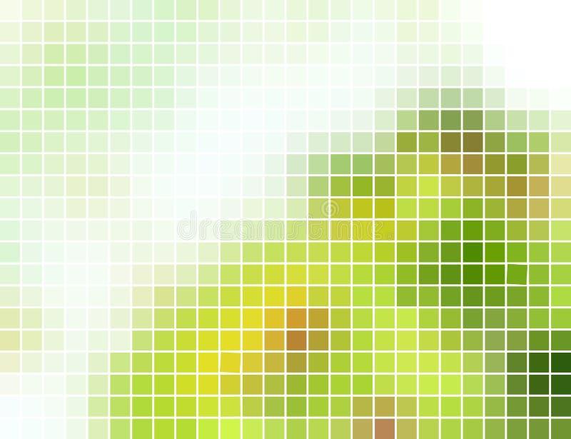 abstrakt bakgrundsmosaikfyrkant stock illustrationer