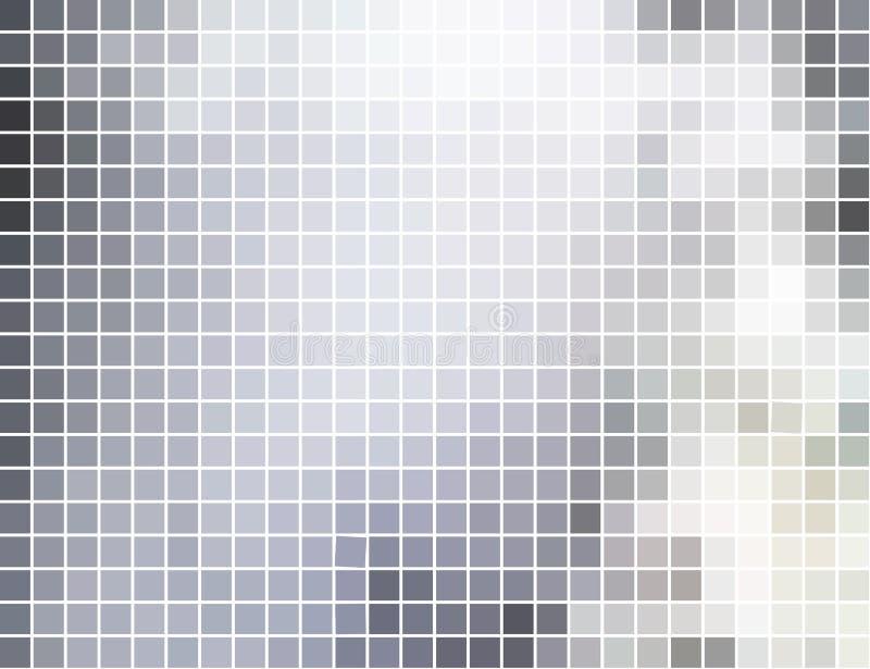 abstrakt bakgrundsmosaikfyrkant royaltyfri illustrationer