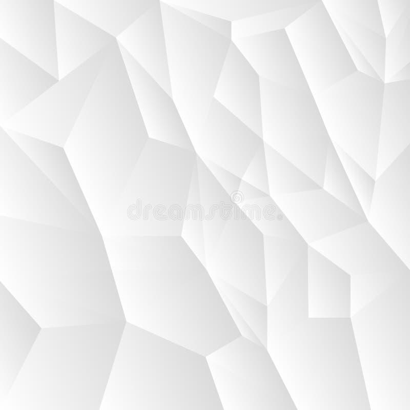 abstrakt bakgrundsmosaikvektor stock illustrationer