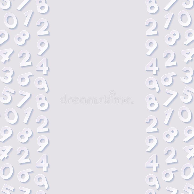 Download Abstrakt bakgrundsnummer vektor illustrationer. Illustration av symbol - 106836345