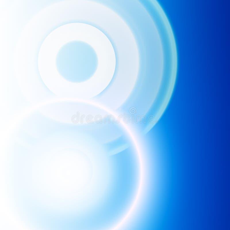 abstrakt bakgrundssignalljus stock illustrationer