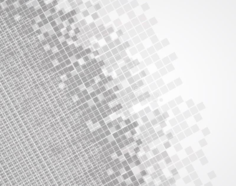 abstrakt bakgrundstech Futuristisk teknologimanöverenhet Vecto royaltyfri illustrationer
