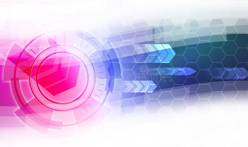 abstrakt bakgrundsteknologi vektor illustrationer