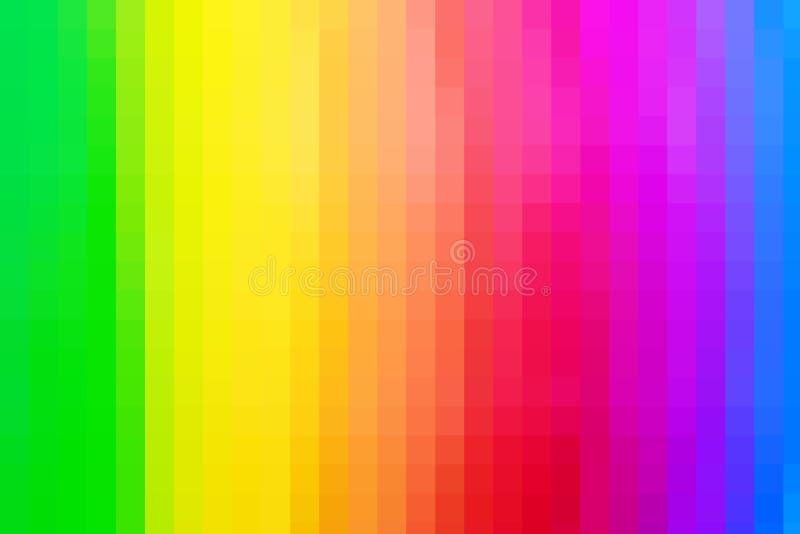 Abstrakt bakgrundstextur av färgrik regnbågefärg royaltyfri illustrationer