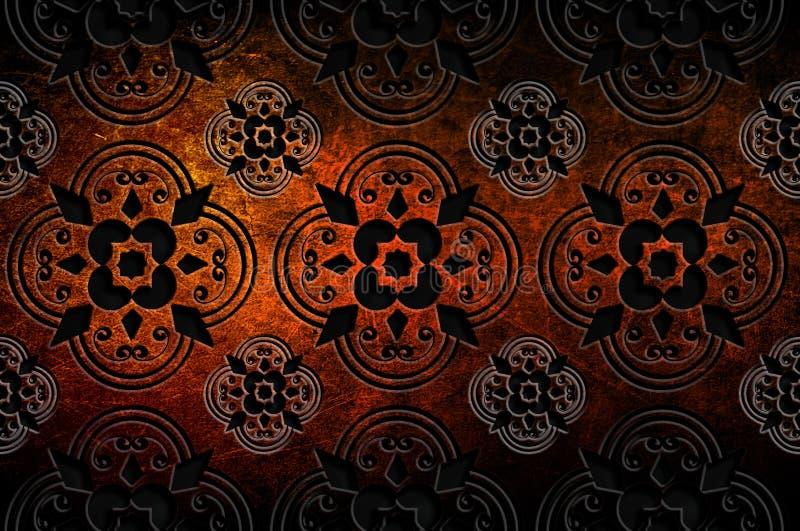 abstrakt bakgrundstexturer royaltyfri illustrationer