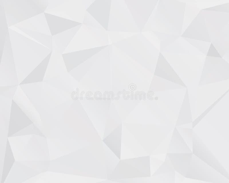abstrakt bakgrundstriangel vektor illustrationer