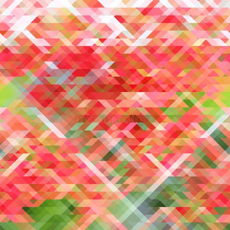 abstrakt bakgrundstriangel stock illustrationer