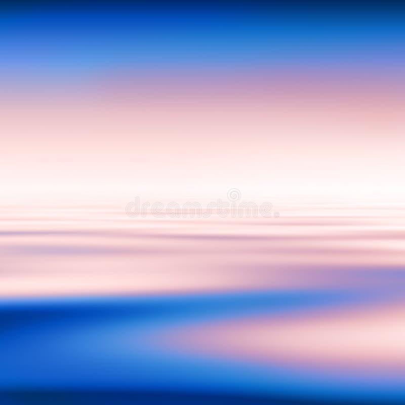 abstrakt bakgrundsvatten royaltyfri illustrationer