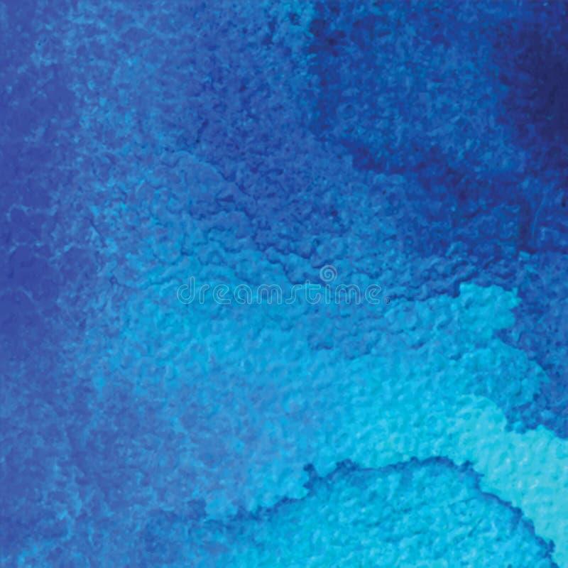 abstrakt bakgrundsvattenfärg Räcka den utdragna vattenfärgbakgrunden, texturera, befläcka vattenfärger på vått papper stock illustrationer