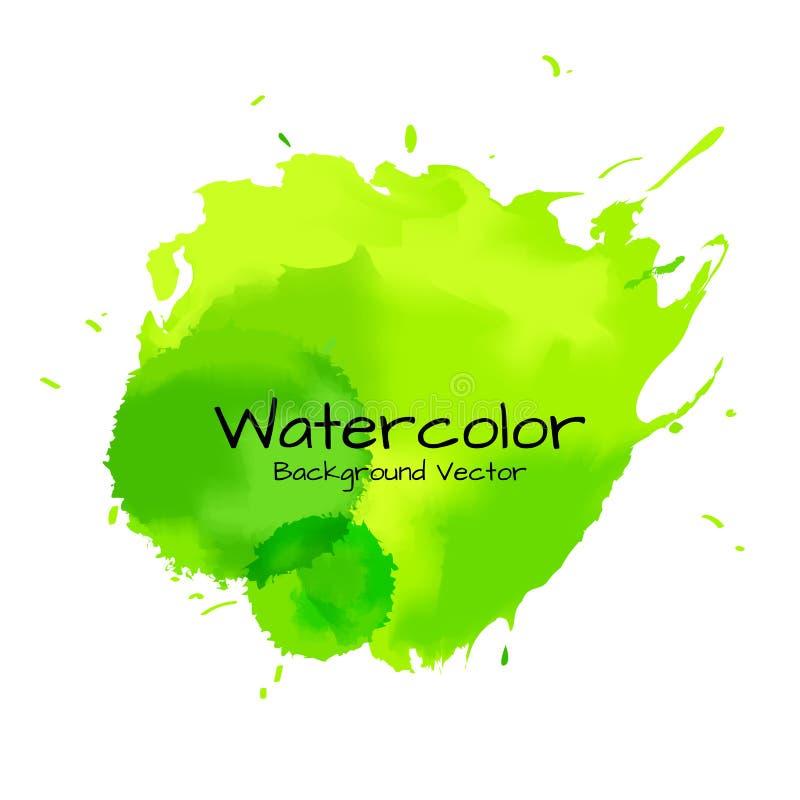 Abstrakt bakgrundsvattenfärgmålning vektor illustrationer