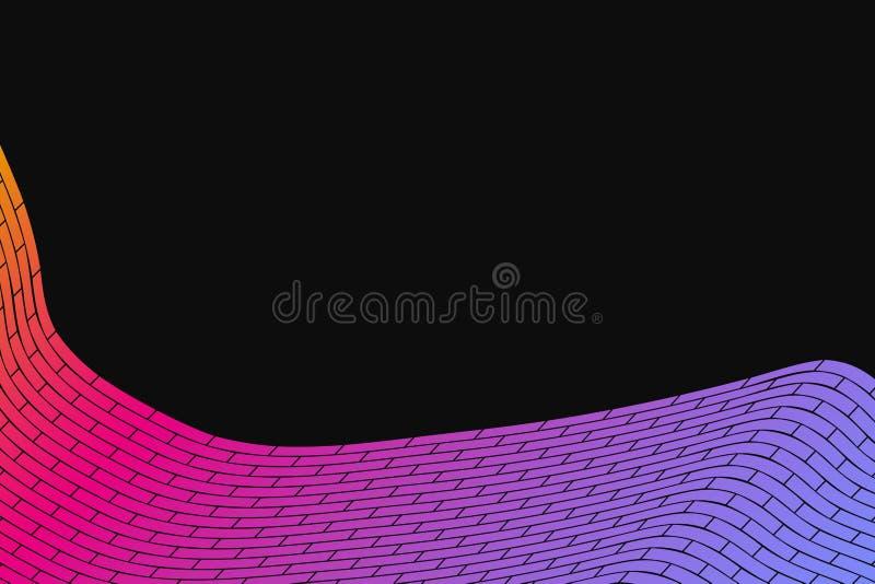 abstrakt bakgrundsvektor Cyberrasterillustration Massiv mångfärgad cell royaltyfri illustrationer