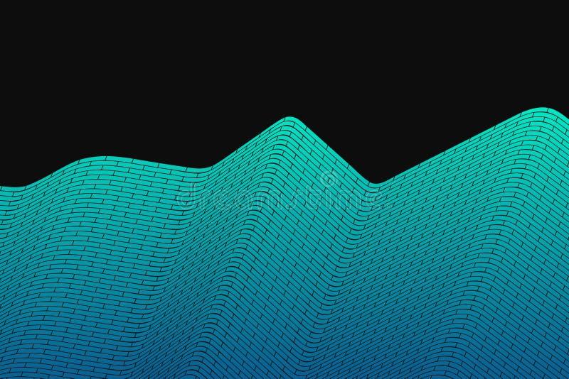 abstrakt bakgrundsvektor Cyberrasterillustration Massiv mångfärgad cell vektor illustrationer