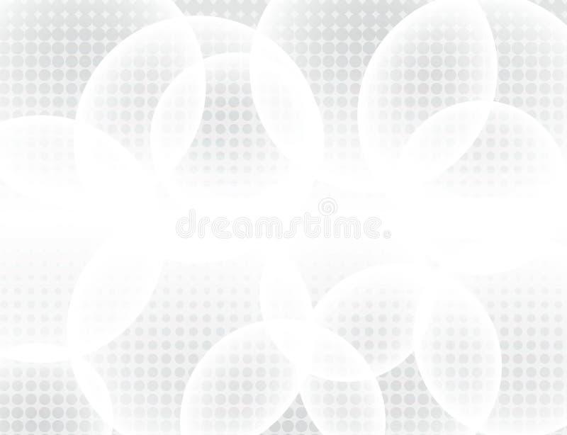 Abstrakt bakgrundsvektor för vit abstrakt gray Modern design b stock illustrationer
