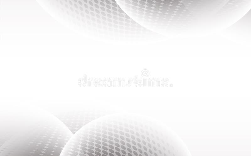 Abstrakt bakgrundsvektor för vit abstrakt gray Modern design b vektor illustrationer