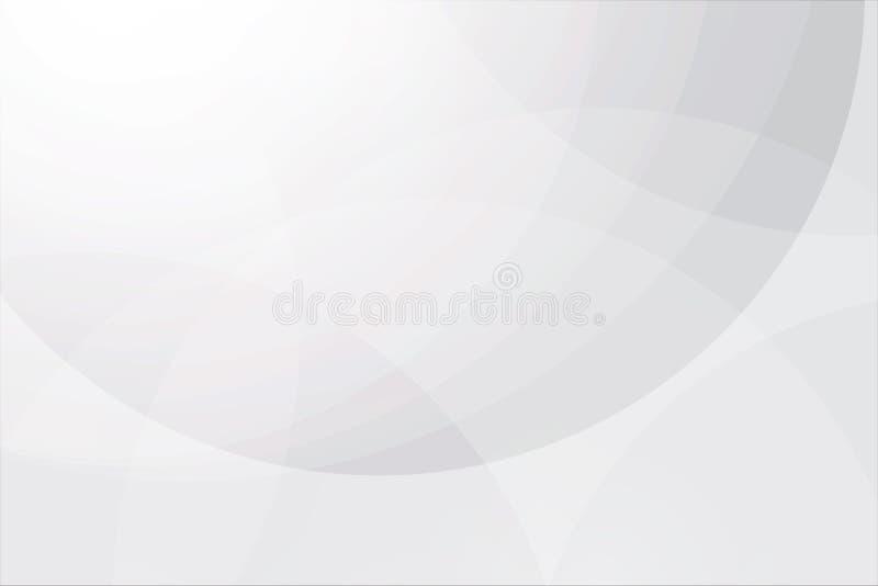 Abstrakt bakgrundsvektor f?r vit royaltyfri illustrationer