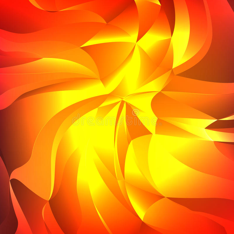 abstrakt bakgrundsvektor Glansiga virveltrianglar Färgrik geometrisk illustration för vektor vektor illustrationer