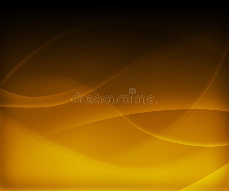 abstrakt bakgrundswave royaltyfri illustrationer