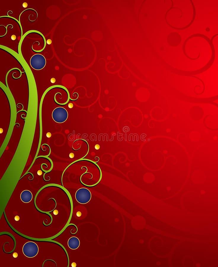 abstrakt bakgrundsxmas royaltyfri illustrationer