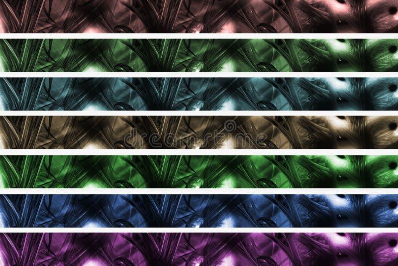 abstrakt banertitelrad arkivbild
