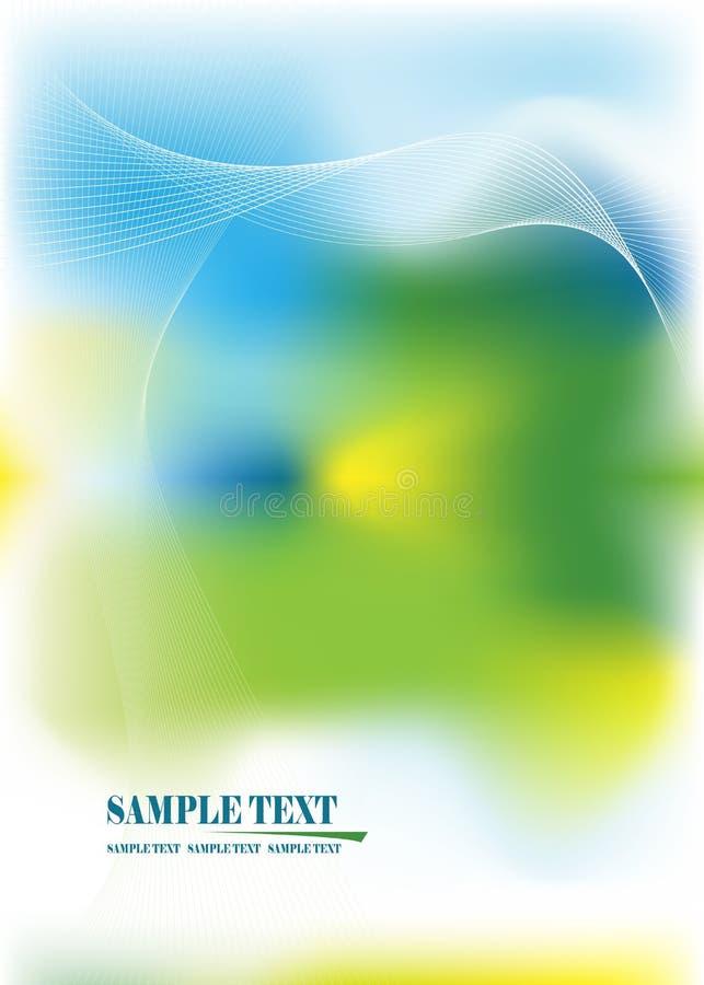 abstrakt banervektor royaltyfri illustrationer