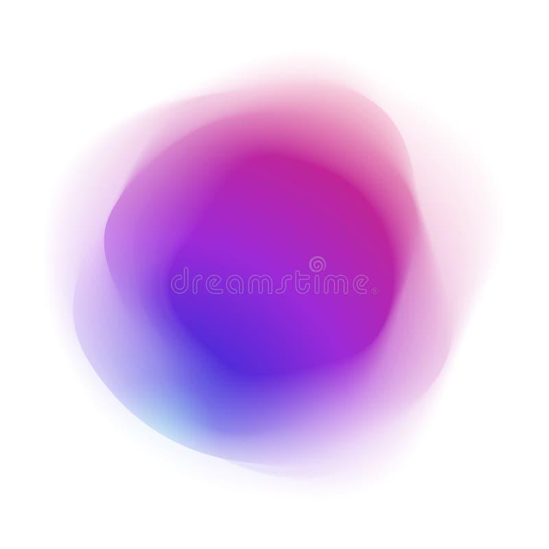 Abstrakt Barwiąca forma ilustracja wektor