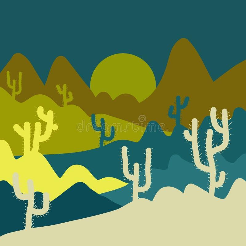 Abstrakt barwiący obrazek ilustracja wektor