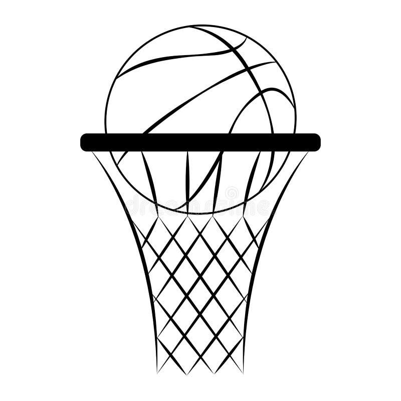 Download Abstrakt basketetikett vektor illustrationer. Illustration av läder - 106826615