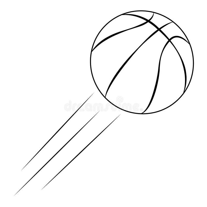Download Abstrakt basketetikett vektor illustrationer. Illustration av amerikansk - 106826662