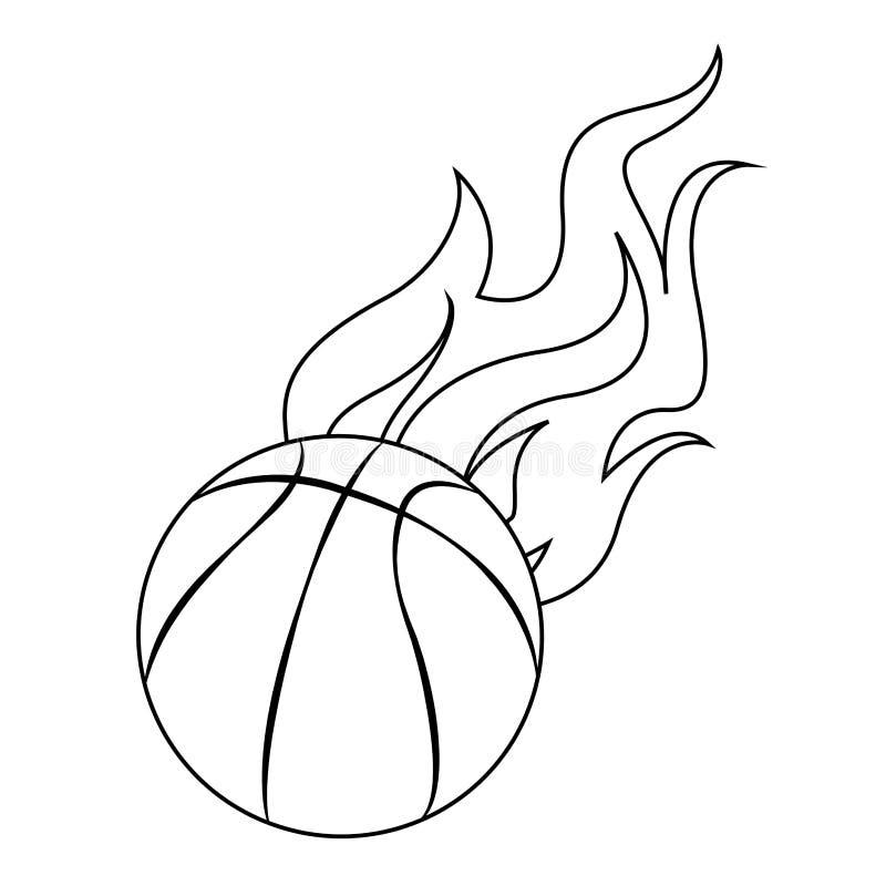 Download Abstrakt basketetikett vektor illustrationer. Illustration av objekt - 106826680