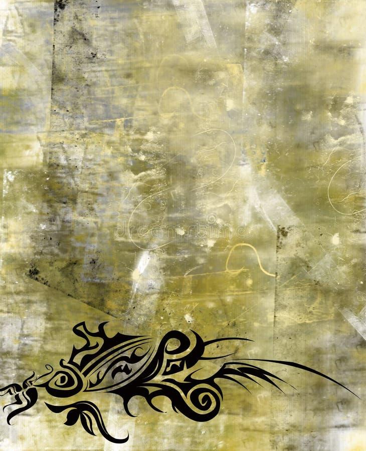 abstrakt begrepp royaltyfri illustrationer