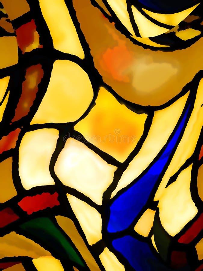 Download Abstrakt begrepp stock illustrationer. Bild av yellow, rött - 46477